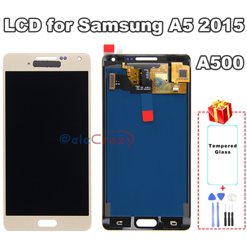 100% tested For SAMSUNG Galaxy A5 2015 A500 A500F A500FU A500H A500M LCD Display with Touch Screen Assembly Replacement AAA 100% tested aaa quality for samsung galaxy a5 2015 a500 a500f a500m replacement lcd display with touch screen digitizer assembly