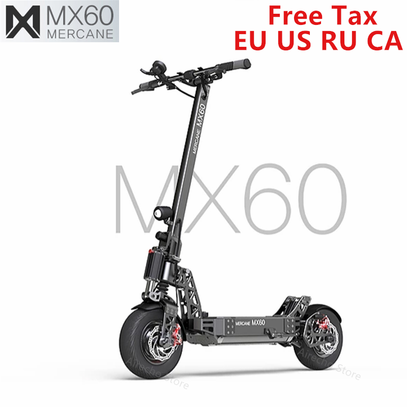 2019 New <font><b>Mercane</b></font> <font><b>MX60</b></font> Kickscooter Foldable Smart Electric Scooter 2400W 60km/h 100km Range 11