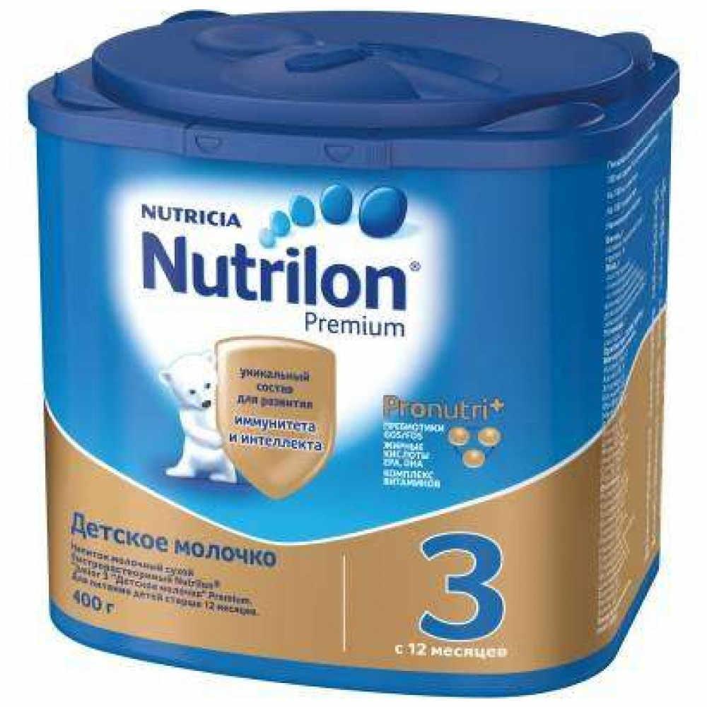 Молочная смесь Nutrilon Premium 3 с 12 мес 400 гр