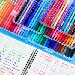 yoofun 12/24/36 Colors Art Marker pen Painting Korean Stationery Bullet Journaling Watercolor pen School Stationery Supplies