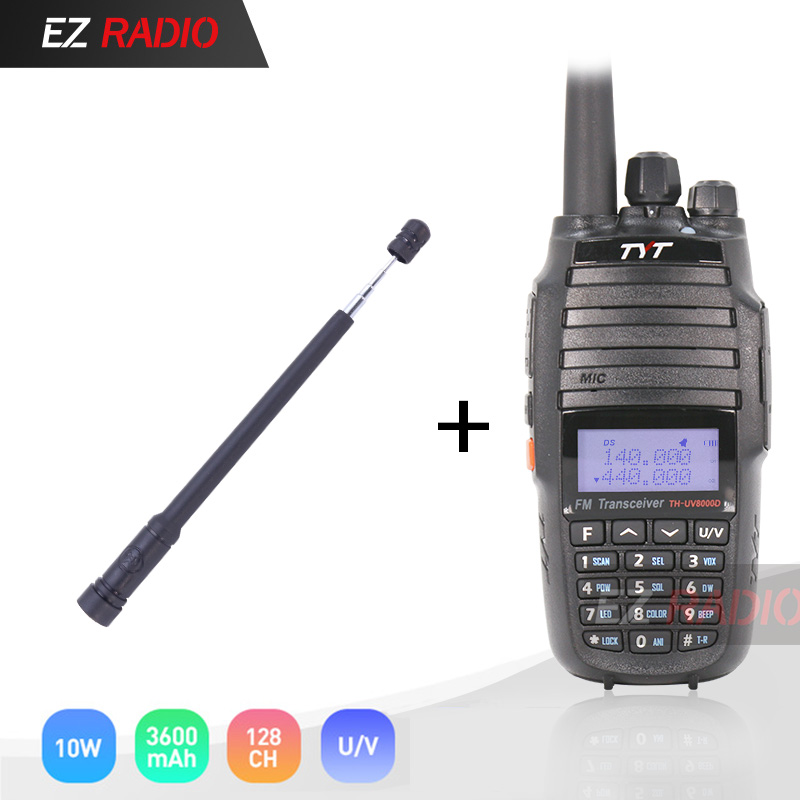 10W Upgrade Version Cross Band Repeater Function VHF UHF TYT TH-UV8000D Amateur Radio 10 KM High 10W Walkie Talkie 10 KM UV8000E