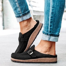 Dropshipping Summer New Women Flats Shoes Loafers Retro Ladies Leather Flats Shoes Comfortable Flats Shoes Woman william landay mission flats