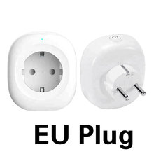 цены TY-EU-6S WiFi Smart Socket EU Plug Timing Switch Remote Control Smart Socket 250V 10A Work For Amazon Alexa Google Assistant