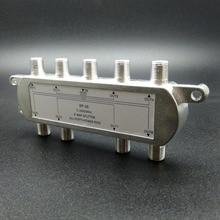 8 полосный Порт ТВ сигнальный спутник Sat коаксиальный диплексор комбинированный сплиттер комбинаторы кабельный переключатель коммутатор для ТВ сигнала сплиттер
