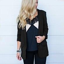 JODIMITTY 2020 New Fashion Womens Autumn Jacket Chiffon Long Sleeve Cardigan Loose Casual Coat Office Ladies Basic Solid Jackets