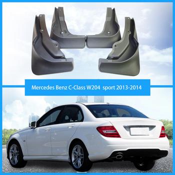 Dla Mercedes Benz klasy c w204 sportowe błotniki benz klasy c błotniki benz w204 sportowe błotniki akcesoria samochodowe 2013-2014 tanie i dobre opinie NoEnName_Null 38cm 12cm TPE+PP 29cm