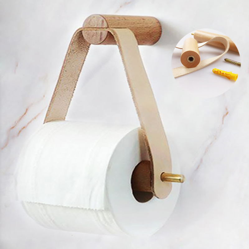 toilet paper holder stand wood