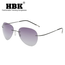 2020 New Men Ultra-light Pilot Polarized Sunglasses Brand De
