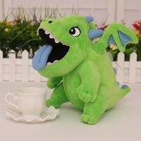 High Quality Clash Royal Baby Dragon Green Mascot Toy Cosplay Stuffed & Plush Cartoon Doll
