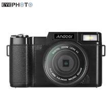 """Andoer R1 נייד מצלמות וידאו 24MP דיגיטלי וידאו המצלמה Full HD 1080P 3.0 """"Rotatable LCD מסך Anti shake 4X דיגיטלי זום"""