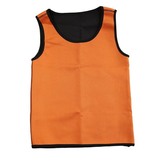 Slimming Belt Belly Men Slimming Vest Body Shaper Neoprene Abdomen Fat Burning Shaperwear Waist Sweat Corset Tank Tops 4