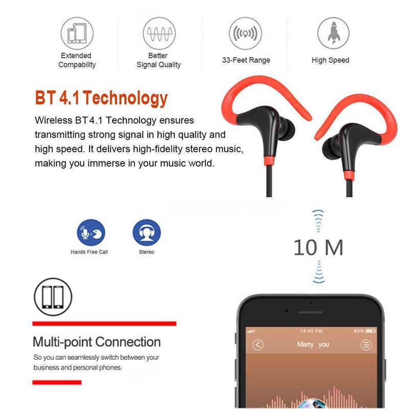 Norns przewodowe słuchawki Bluetooth Sport Running słuchawki do muzyki kobiety śliczne słuchawki słuchawki z mikrofonem telefon android ios