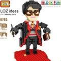 Новый LOZ блоки персонаж аниме маг фильм фигурку блок пластиковая сборка игрушка развивающий алмаз мини блок кирпич 9793