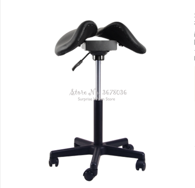 Multifunction Adjustable Saddle Stool Seat Furniture Ergonomic Medical Office Saddle Chair Rolling Swivel Chair For Home Dental