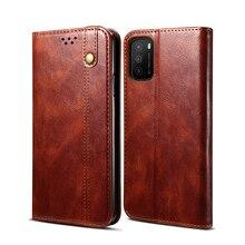 Retro flip couro carteira bolsa caso para xiaomi poco m3 livro de negócios stands telefone capa para xiaomi poco m3 caso magnético fundas