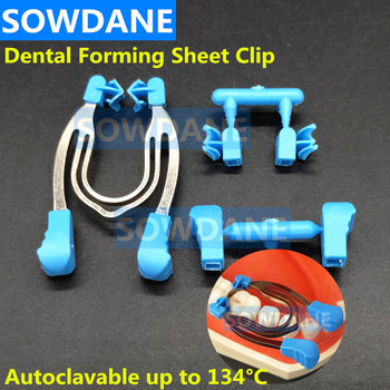 Dental Sectional Contoured Matrix Clip Matrice Clamp Dental Forming Sheet Clip Dentist Matrices Wedge Material Ring Distractor