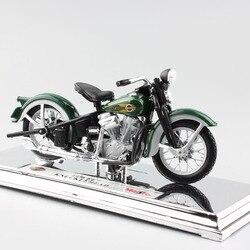 1/18 Escala clássicos 1936 EL IDIOTA da motocicleta retro coletor de miniaturas de brinquedo Diecasts & Toy Veículos modelo de moto Maisto