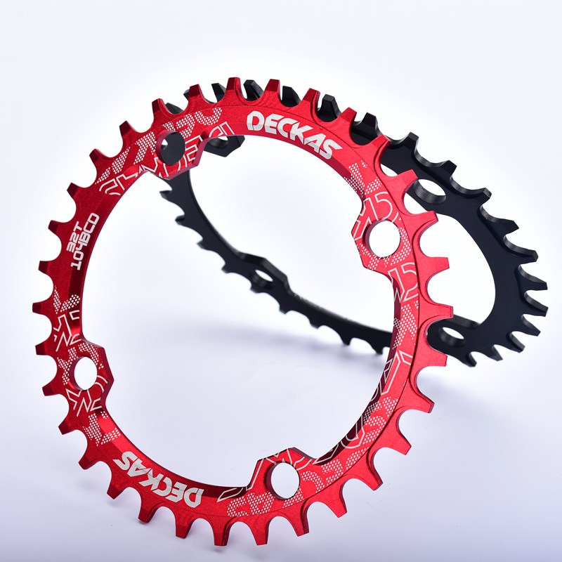 Single Tooth Narrow Wide Bike MTB Bicycle Chainring 32T//34T//36T