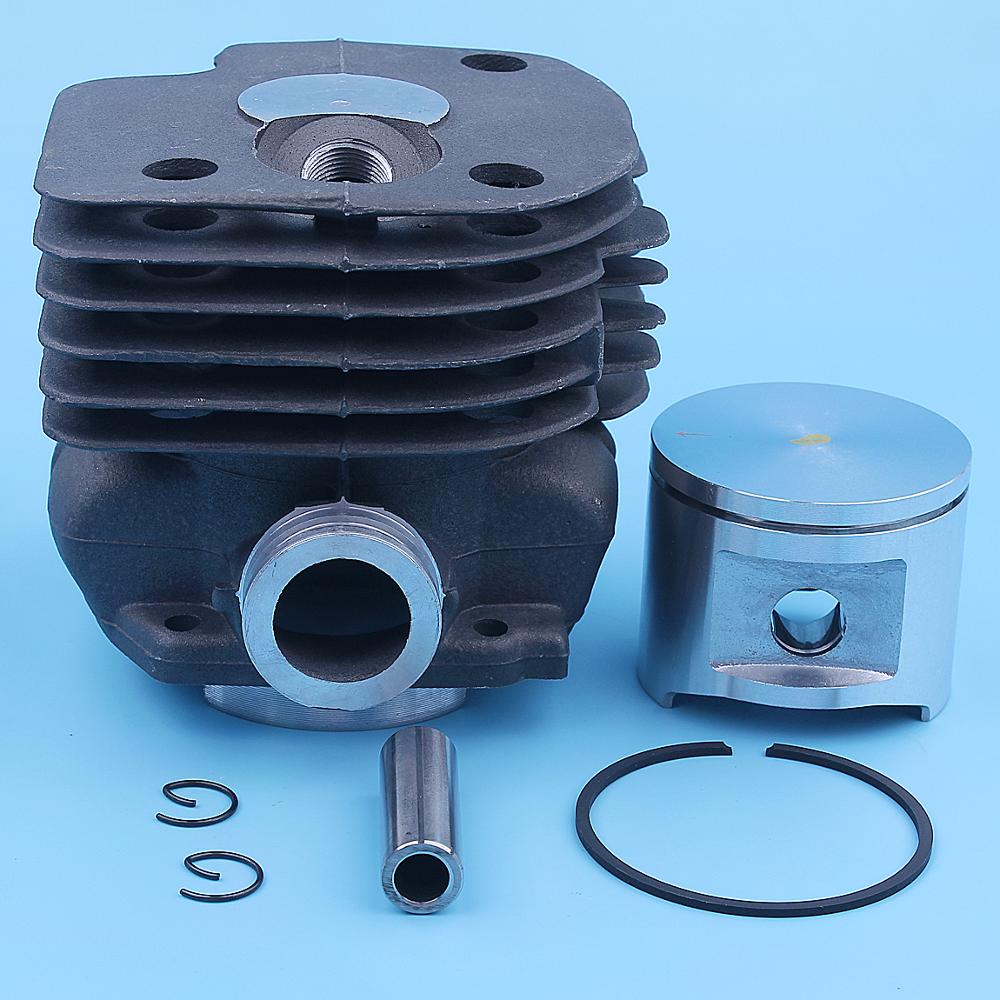 52mm Big Bore Cylinder Piston Kit For Husqvarna 372XP 365 372 XP 371 362 375K Chainsaw 503 93 93 72 Replacement Spare Parts