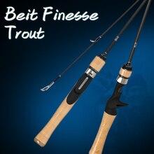 TSURINOYA Fishing Rod DRAGON Bait FINESSE TROUT Rod UL Power 1.52m 1.82m FUJI Accessories Ultralight Carbon Casting Spinning Rod