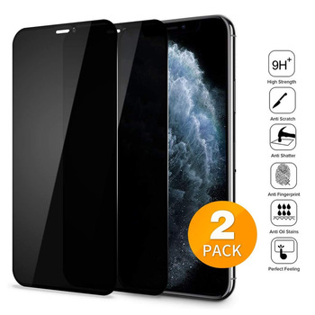 2PACK Anti-spy Tempered Glass For iPhone 12 11 Pro Max X XS MAX XR Private Screen Protector Glass For iPhone 6 7 8 Plus 12 mini 1