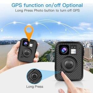 Image 4 - BOBLOV Wifi caméra de Police 64GB F1 corps Kamera 1440P caméras portées pour lapplication de la loi 10H enregistrement GPS Vision nocturne DVR enregistreur