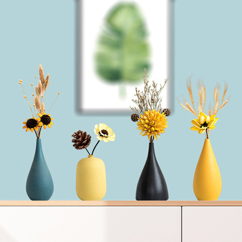 Flower Vase Nordic Decoration Home White Ceramic Vase For Wedding Decoration Hydroponic Flower Pot Delicate Tabletop Vase Zzy018 Buy At The Price Of 7 07 In Aliexpress Com Imall Com