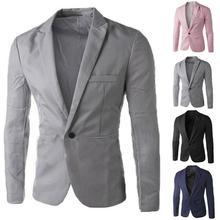 Men's Fashion Spring Autumn British's Style Business Casual Suit Jacket Plus Size M-3XL Blazer terno Dropshipping