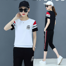 summer lounge wear two piece set top and pants 2 piece sets womens outfits korean style fall clothing 2021 tracksuit casual