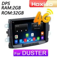 Автомобильный мультимедийный плеер, 4G Android 8,1 для Renault Duster Sandero Lodgy Capture Symbol Duster Docker навигация GPS 2 Din
