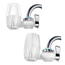 Kitchen Faucet Mount Filter Household Water Tap Purifier 7 Layers Filtering Water Softener Purification Device searide kitchen water filter faucet 8 layers purification tap water purifier faucet purifier ceramic water filters for household
