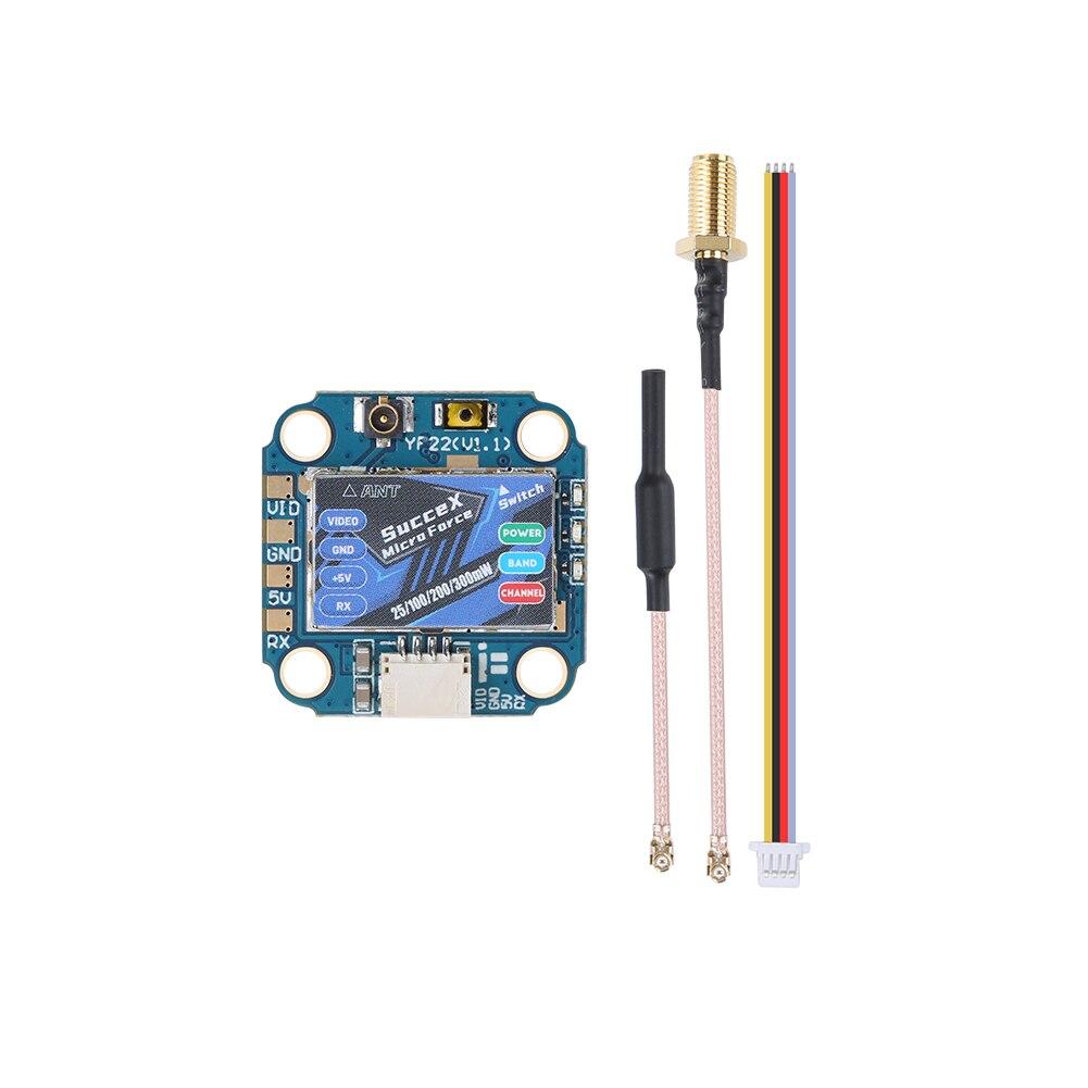IFlight SucceX Micro Kraft 5,8 GHz PIT/25/100/200mW/300mW VTX Einstellbar mit IPEX (UFL) stecker für FPV teil