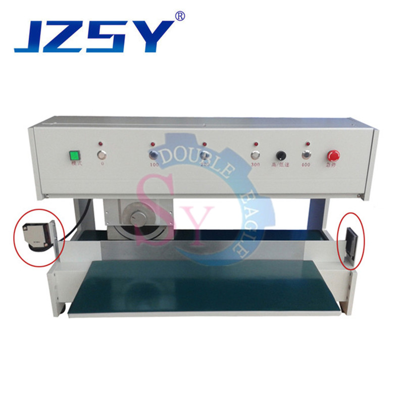 Industrial Automatic Aluminum Fiber PCB Separator/printed Circuit Board Cutter Machine With Moveable Cutting Blade