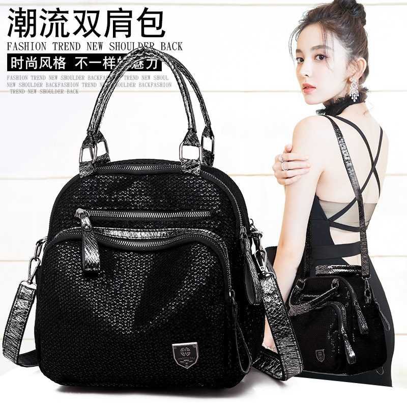 New Style Multi-functional Sequin WOMEN'S Bag Manufacturers Direct Selling Foreign Trade Export Cross Border For Top Grade Elega