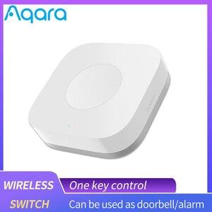 Image 1 - Aqara Smart Wireless Switch Remote Control Aqara Switch One Key Control ZigBee Intelligent Application For Xiaomi home mijia App