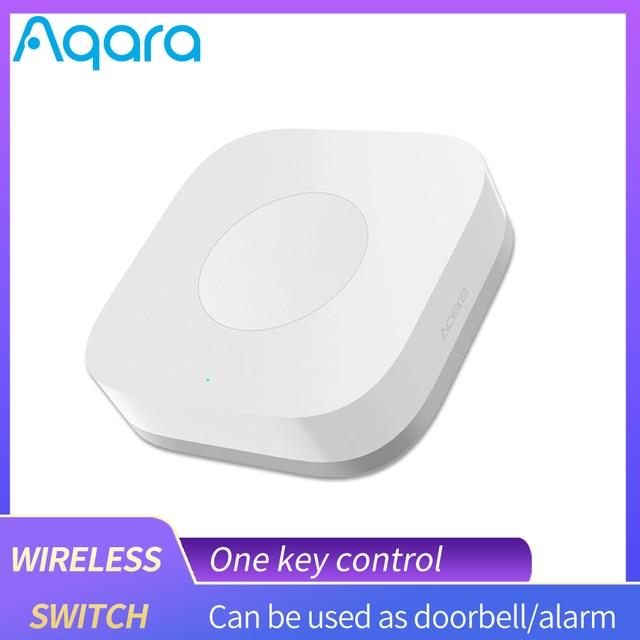 Aqara Smart Wireless Switch Remote Control Aqara Switch One Key Control ZigBee Intelligent Application For Xiaomi home mijia App