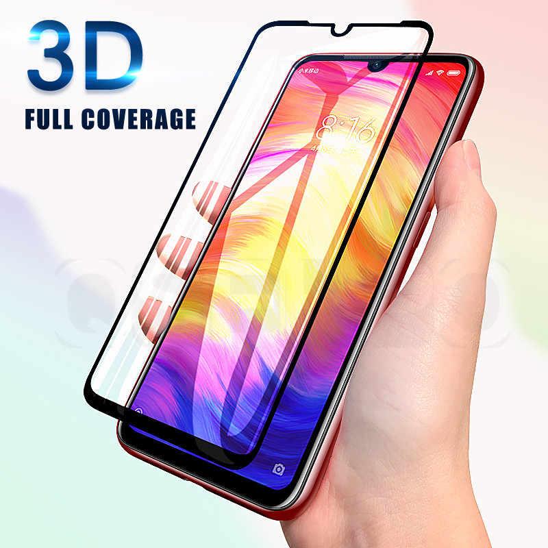 3D Kaca Tempered untuk Xiao Mi Mi A3 CC9 CC9e Pelindung Layar untuk Xiao Mi Mi 9 Se Bermain Kaca merah Mi Note 7 Merah Mi 7 Film Pelindung