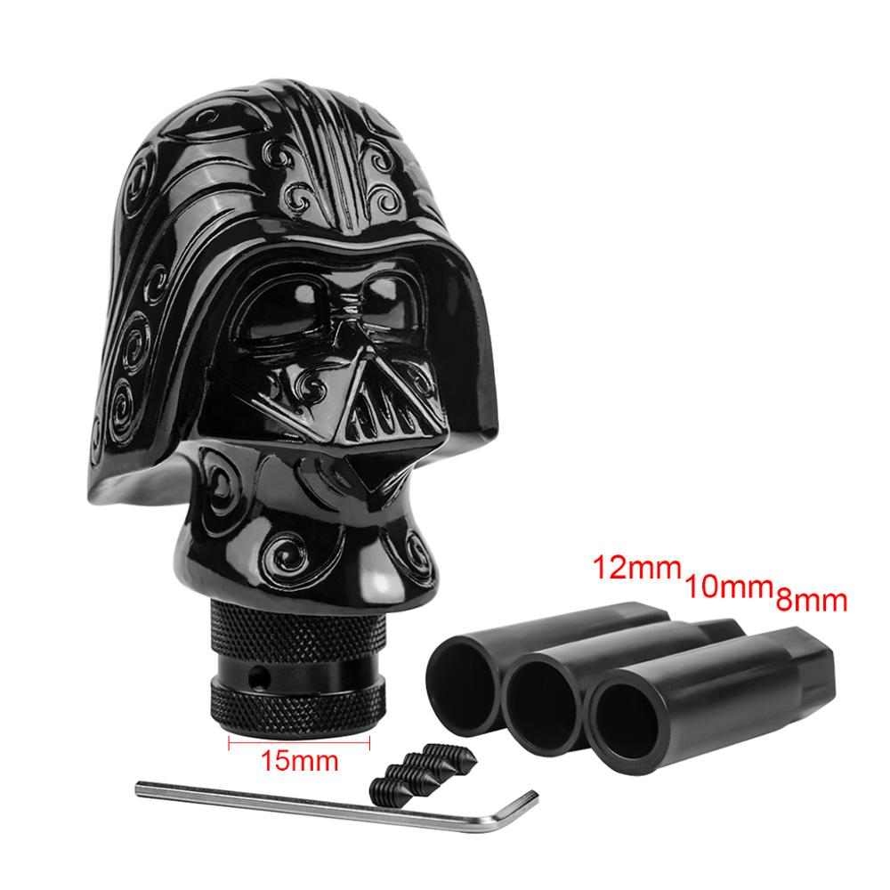 Shift Knob Kylo Ren Starwar Darth Vader Head Stick Gear Manual Shifting Head Personality Head Racing Pole Stick Car Auto