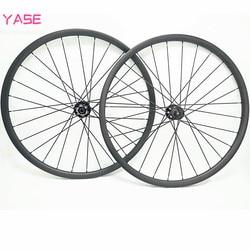 27.5er karbon mtb koła tarczowe 40x30mm NOVATEC D791SB D792SB 100x15 142x12 asymmerty bezdętkowe rower 27.5 koła filar 1420 w Koła roweru od Sport i rozrywka na