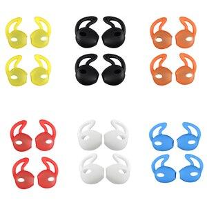 Image 5 - 4 sztuk douszne wkładki douszne słuchawki skrzynki pokrywa skóry dla Apple dla iPhone 7 dla AirPods Case амбушюры