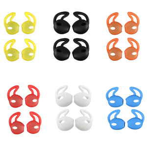 Image 5 - 4Pcs In Ear Eartips Earbuds Earphone Case Cover Skin for Apple for iPhone 7 for AirPods case амбушюры