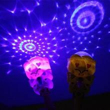 20cm luminous projection magic wand children's toys flash magic wand wizarding world of magic wand wand magic luna lovegood wand with box