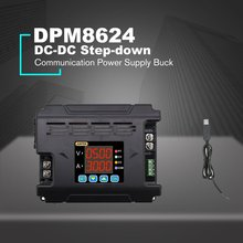 DPM8624 Communication Power Supply Buck Voltage Remote Digital Control Constant Voltage Current DC-DC Step-down 60V 8A dps3003 constant voltage current step down programmable control supply power module buck voltage converter lcd color
