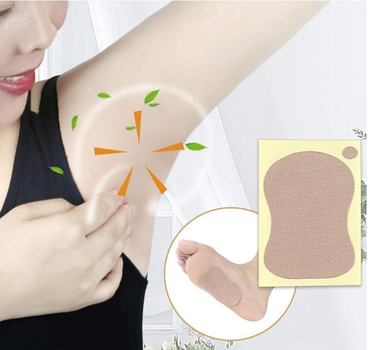 1/5/10/20Pcs Underarm Dress Clothing Armpit Care Sweat Scent Perspiration Pad Shield Absorbing Sweat Odor Antiperspirant Foot