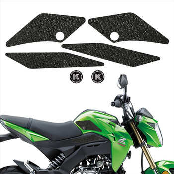 ADESIVI 3D Sticker Decal Emblem Protector Tank Pad Tank grip For KAWASAKI 2017-2018 Z125 PRO 17-18 Z125 PRO KRT EDITION