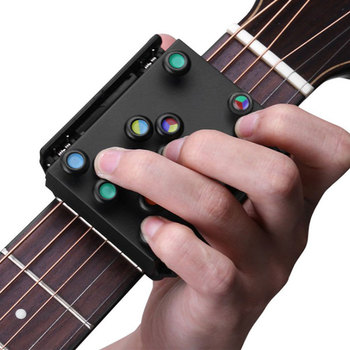 21 Guitar Chords Beginner Teaching Aid Learning System Guitar Trainer Practice Acoustic Guitar Accessories 1pc Chord Buddy