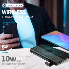 Jellico Power Bank 10000mAh Portable Charging PowerBank 1000