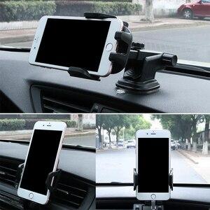 Image 4 - โทรศัพท์มือถือผู้ถือ Vent Air Car กระจกรถยนต์ Mount ขาตั้งโทรศัพท์ 360 คาร์บอนไฟเบอร์ผู้ถือสมาร์ทโฟนสนับสนุนรถ