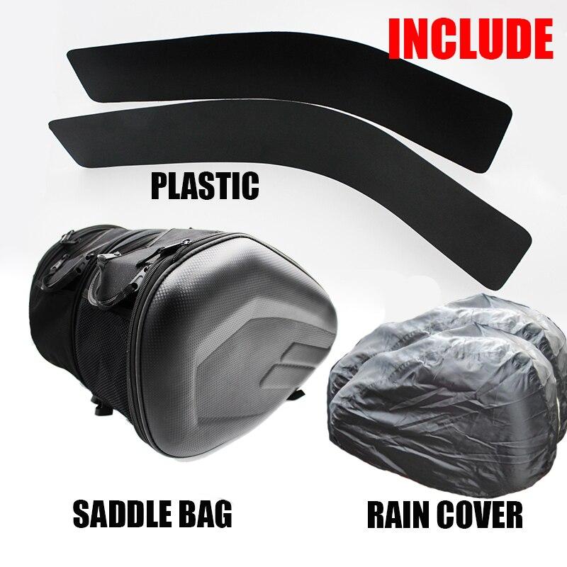 2018 SA212 мотоциклетные водонепроницаемые седельные сумки, сумки для гоночного мотошлема, багажные сумки для путешествий + одна пара дождевико