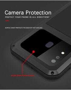Image 5 - Aşk MEI samsung kılıfı Galaxy A30 A30S A50 A50S A70 A70S güçlü Metal zırh şok kir geçirmez su telefon kılıfları a40s A20